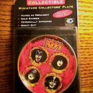 KISS MINIATURE COLLECTORS PLATE SEALED IN PACKAGE