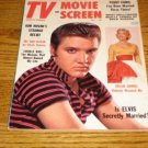 ELVIS  TV  and Movie Screen Magazine  1958