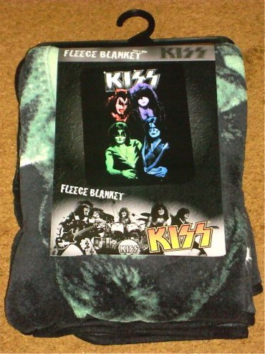 KISS FLEECE BLANKET BRAND NEW!