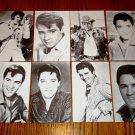 Elvis Presley Set of 8 Black & White Photo Cards