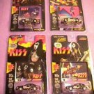 Johnny Lightning KISS Stock Car Bodies Set of 4 Sealed
