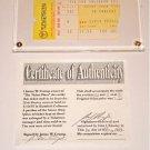 ELVIS CONCERT TICKET STUB RICHFIELD COLISEUM 7/10/75