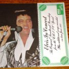 ELVIS IN CONCERT INSERT CARD