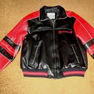 TAMPA BAY BUCCANEERS LEATHER JACKET MEN'S LARGE  NEW!