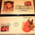 ELVIS PRESLEY Complete Set of Elvis Stamped Evelopes