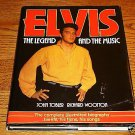 ELVIS THE LEGEND AND THE MUSIC HARDCOVER BOOK