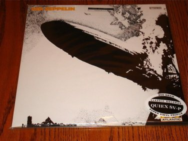 LED ZEPPELIN 1 LP IN ORIGINAL BAG WITH STICKER 200 GRAM LP