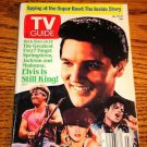 ELVIS  ON TV GUIDE Elvis Is Still King