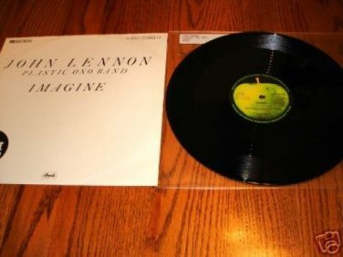 "JOHN LENNON PLASTIC ONO BAND 12"" MAXI SINGLE"