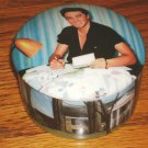 ELVIS LETTERS FROM FANS PORCELAIN MUSIC BOX 1993
