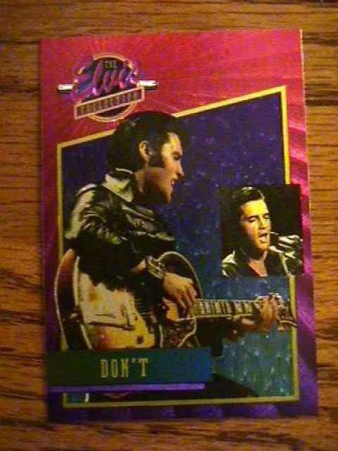 ELVIS PRESLEY BONUS FOIL CARD Don't  # 20