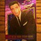 ELVIS PRESLEY BONUS FOIL CARD Let Me Be Your Teddy Bear No. 2