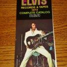 Elvis Presley 1973 RCA Record & Tape Catalog