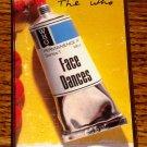 THE WHO FACE DANCES CASSETTE