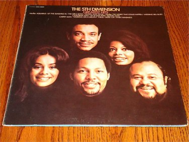 THE 5TH DIMENSION GREATEST HITS ORIGINAL LP