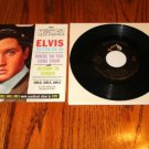 ELVIS PRESLEY Return To Sender 45 rpm with pic sleeve
