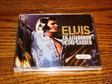 ELVIS An Afternoon In The Garden CD    SEALED !   OOP !