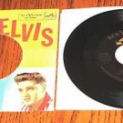 ELVIS STUCK ON YOU / FAME & FORTUNE Pic Sleeve & 45
