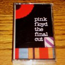 PINK FLOYD THE FINAL CUT CASSETTE