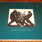 Van Halen Women and Children First Original LP Still In Shrink!   1980