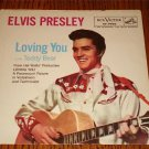 ELVIS Loving You / Teddy Bear Picture Sleeve  Only