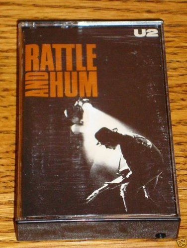 U2 Rattle and Hum Cassette