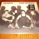 QUEEN THE WORKS ORIGINAL LP STILL IN SHRINK WITH STICKER  1984