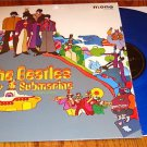 THE  BEATLES YELLOW SUBMARINE BLUE COLORED VINYL LP STILL IN SHRINK WRAP