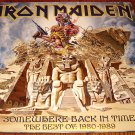 IRON MAIDEN 2 PICTURE DISC SET SOMEWHERE BACK IN TIME THE BEST OF 1980-89