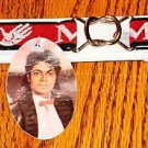 MICHAEL JACKSON ADJUSTABLE BELT WITH TAG NEW!