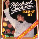MICHAEL JACKSON DELUXE COLORFORMS DRESS UP SET SEALED !