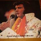 ELVIS PRESLEY SUMMER FESTIVAL SOUVENIR MENU 1975