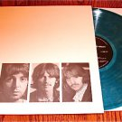 THE  BEATLES WHITE UNPLUGGED BLUE MARBLE COLORED LP