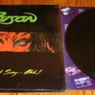 POISON OPEN UP AND SAY AHH ORIGINAL LP IN SHRINK WRAP