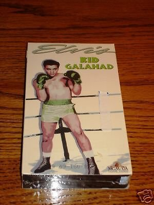 ELVIS PRESLEY KID GALAHAD VHS SEALED !