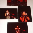 RICK SPRINGFIELD ORIGINAL CONCERT PHOTOS  SET OF 4