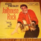 ELVIS PRESLEY Jailhouse Rock Original Pic Sleeve w / 45
