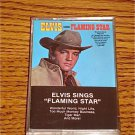 ELVIS SINGS FLAMING STAR CASSETTE