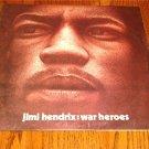 JIMI HENDRIX WAR HEROES ORIGINAL LP