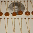 Elvis Presley Set of 12 Boxcar Necklaces King of Rock 1935-1977 On Card