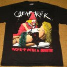 CHEAP TRICK T-SHIRT DOUBLE SIDED BRAND NEW SIZE LARGE