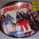 BLACK SABBATH SABOTAGE ORIGINAL PICTURE DISC LP STILL SEALED!