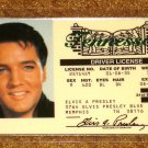 ELVIS PRESLEY SOUVENIR DRIVER LICENSE