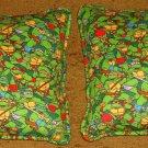 Teenage Mutant Ninja Turtles Set of Two Flannel Travel Pillows