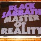 BLACK SABBATH MASTERS OF REALITY ORIGINAL CD 1971
