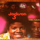 JACKSON 5 ORIGINAL LP TITLED THIRD ALBUM STILL IN SHRINK WITH STICKER 1970