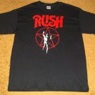RUSH T-SHIRT SIZE LARGE BRAND NEW!