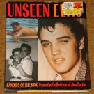 UNSEEN ELVIS CANDIDS OF THE KING HARDCOVER BOOK