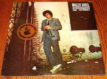 BILLY JOEL 52nd STREET ORIGINAL LP STILL FACTORY SEALED WITH HYPE STICKER 1978