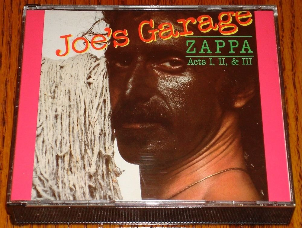 FRANK ZAPPA JOE'S GARAGE ACTS I, II & III ORIGINAL 2-CD SET 1987